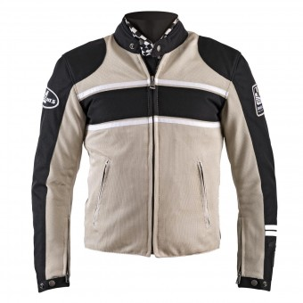 Motorcycle Jackets Helstons Winner Mesh Beige Black