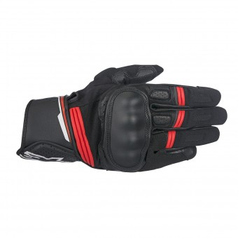 Motorcycle Gloves Alpinestars Booster Black Red