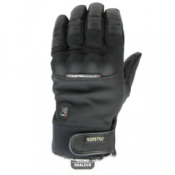 Motorcycle Gloves V'Quattro Commuter 2-1 Gore-Tex Black