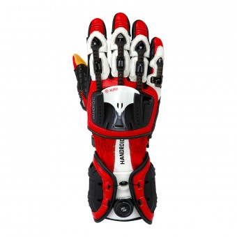 Motorcycle Gloves Knox Handroid MKIII Red