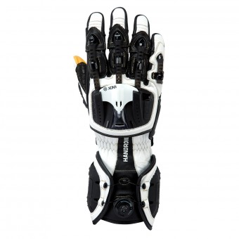 Motorcycle Gloves Knox Handroid MKIII White