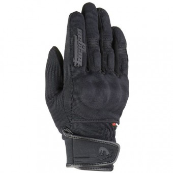 Motorcycle Gloves Furygan Jet Evo II Black