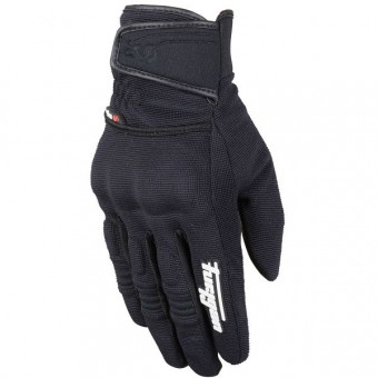 Motorcycle Gloves Furygan Jet Evo II Black Black