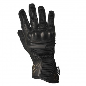 Motorcycle Gloves Bering Lady TX09 Black