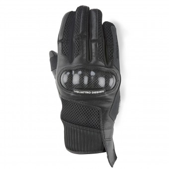 Motorcycle Gloves V'Quattro SP-17 Black