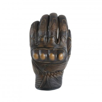 Motorcycle Gloves Darts Wild Brown