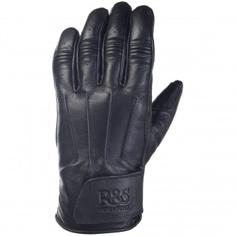 Motorcycle Gloves Ride & Sons Worker Black