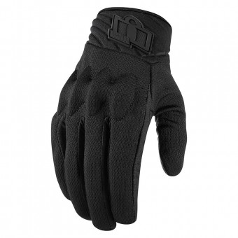 Motorcycle Gloves ICON Anthem 2 Woman Stealth