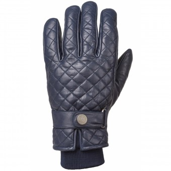 Motorcycle Gloves Ride & Sons Bullit Midnight Blue