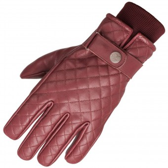 Motorcycle Gloves Ride & Sons Bullit Oxblood