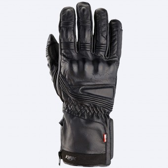 Motorcycle Gloves Knox Covert Leather Black