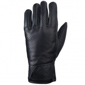 Motorcycle Gloves Ride & Sons Daytona Black