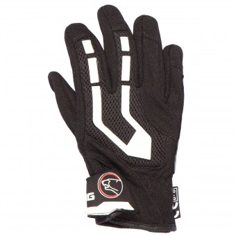 Motorcycle Gloves Bering Eliott Kid Black