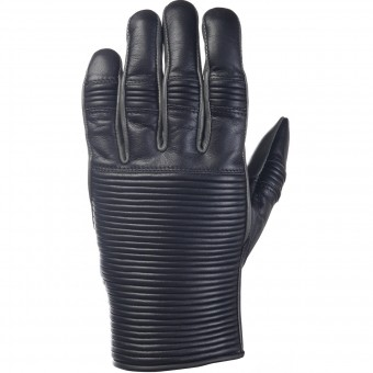 Motorcycle Gloves Ride & Sons Emblem Black Charcoal