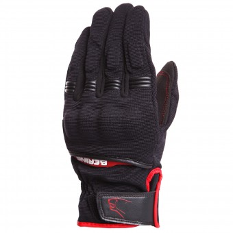 Motorcycle Gloves Bering Fletcher Black Red