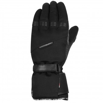 Motorcycle Gloves V'Quattro Frisco Black