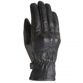 Motorcycle Gloves Furygan GR 2 Full Vented Black