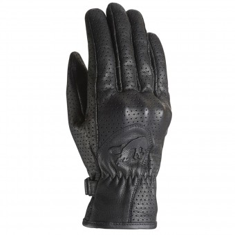 Motorcycle Gloves Furygan GR Lady 2 Vented Black