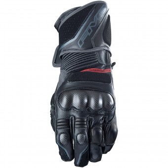 Motorcycle Gloves Five GT1 WP Black