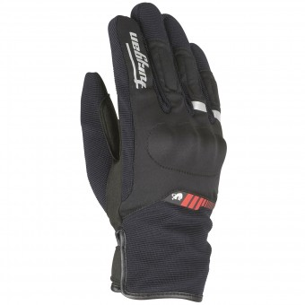 Motorcycle Gloves Furygan Jet All Season Black Red