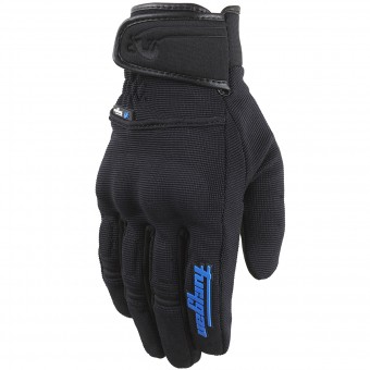 Motorcycle Gloves Furygan Jet Evo II Black Blue
