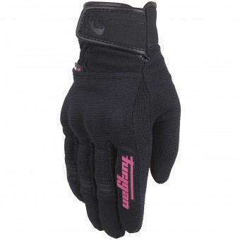 Motorcycle Gloves Furygan Jet Evo II Lady Black Pink