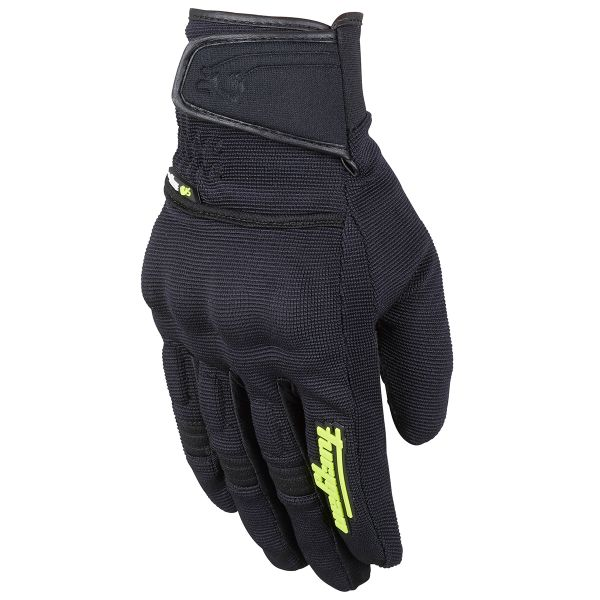 Black//Yellow Fluo Size S Furygan Gloves Jet Evo II