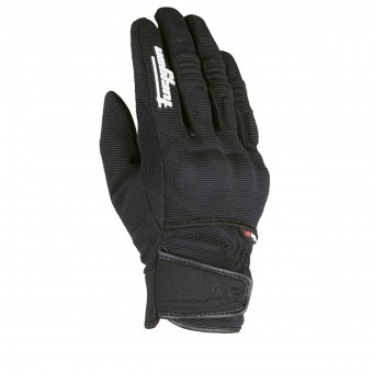 Motorcycle Gloves Furygan Jet Evo Kid Black White
