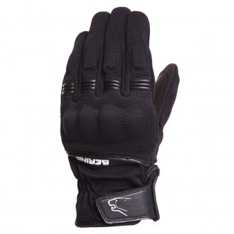 Motorcycle Gloves Bering Lady Fletcher Black