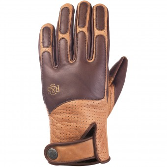 Motorcycle Gloves Ride & Sons Lord Brown Camel