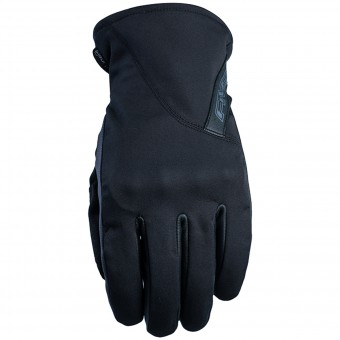 Motorcycle Gloves Five Milano WP Black
