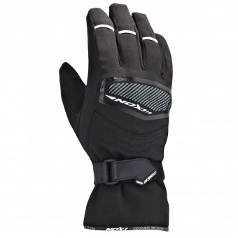 Motorcycle Gloves Ixon Pro Spy Kid HP Black White