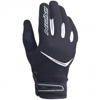 Motorcycle Gloves Ixon RS Slick HP Black White
