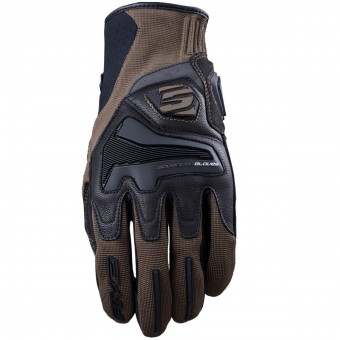 Motorcycle Gloves Five RS4 Brown