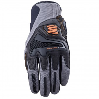 Motorcycle Gloves Five RS4 Grey