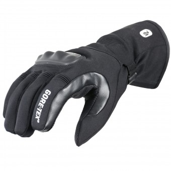 Motorcycle Gloves V'Quattro Runner Gore-Tex Black
