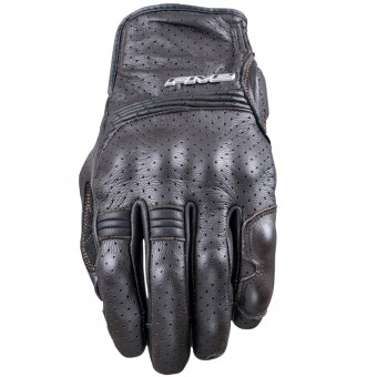 Motorcycle Gloves Five Sport City Brown
