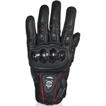 Motorcycle Gloves Darts Striker Black