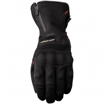 Motorcycle Gloves Five WFX City Long WP Black