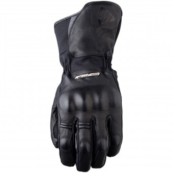 Motorcycle Gloves Five WFX Skin WP Black
