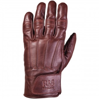 Motorcycle Gloves Ride & Sons Worker Oxblood