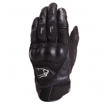 Motorcycle Gloves Bering Zeff Black