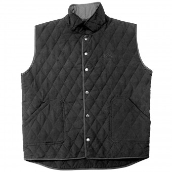 Motorcycle Vests Ride & Sons Thermal Vest Black
