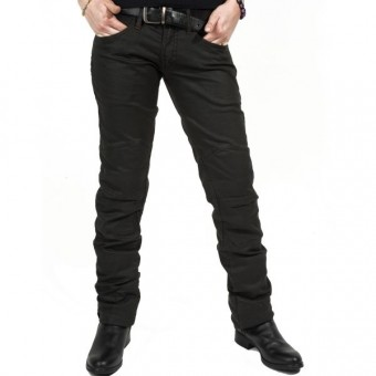 Jeans Esquad Chilo?´ Black Brown Waxed