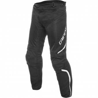 Motorcycle Trousers Dainese Drake Air D-Dry Black White