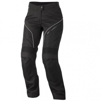 Motorcycle Trousers Alpinestars Stella AST-1 Drystar Black White
