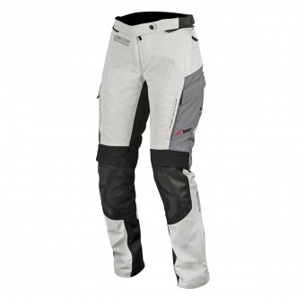 Motorcycle Trousers Alpinestars Stelle Andes V2 Drystar Light Grey Pants