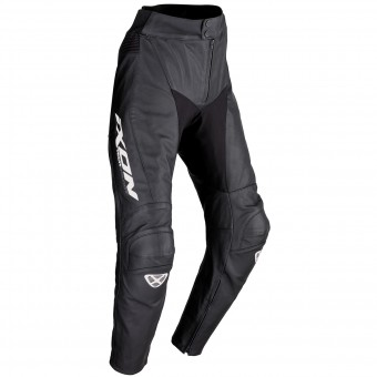 Motorcycle Trousers Ixon Fueller 2.0 Black White Pant