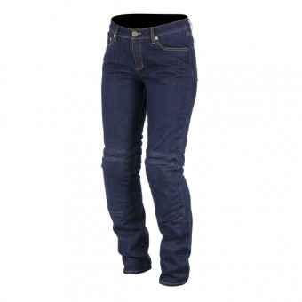 Motorcycle Trousers Alpinestars Kerry Tech Denim Blue