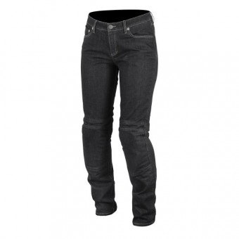Motorcycle Trousers Alpinestars Kerry Tech Denim Black